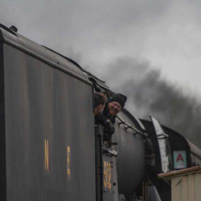 Flying Scotsman coming into Rawtenstall