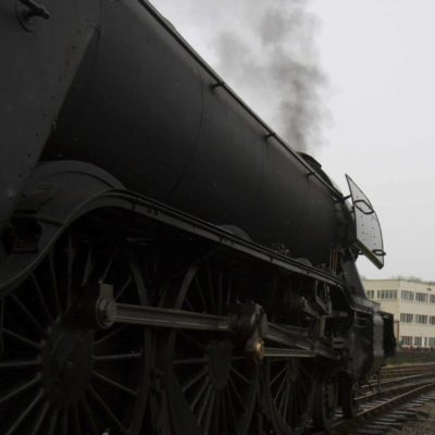 Flying Scotsman from the side