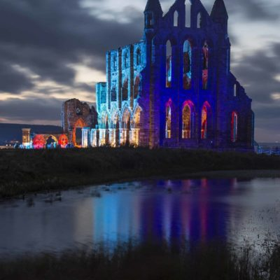 Whitby Abbey Illuminations 2016