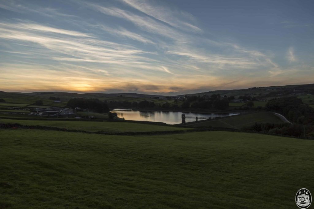 Lower Laithe Reservoir from Cemetery Road, Haworth