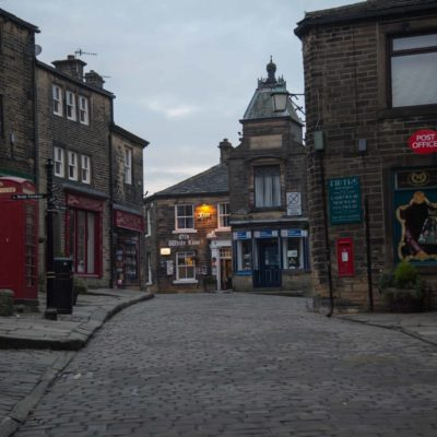 Main Street, Haworth.