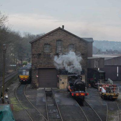 Haworth Railway Yard