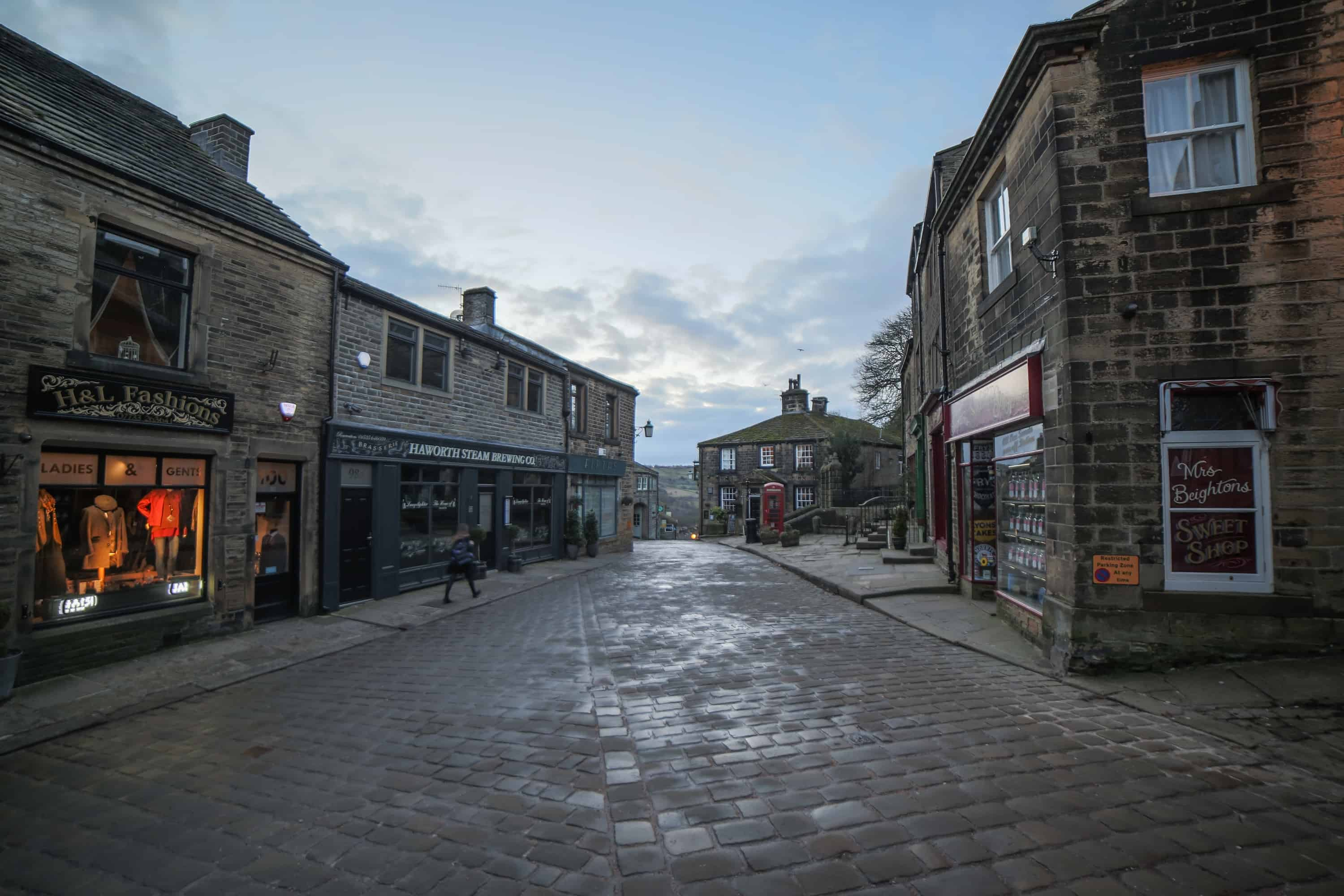 Main Street, Haworth.