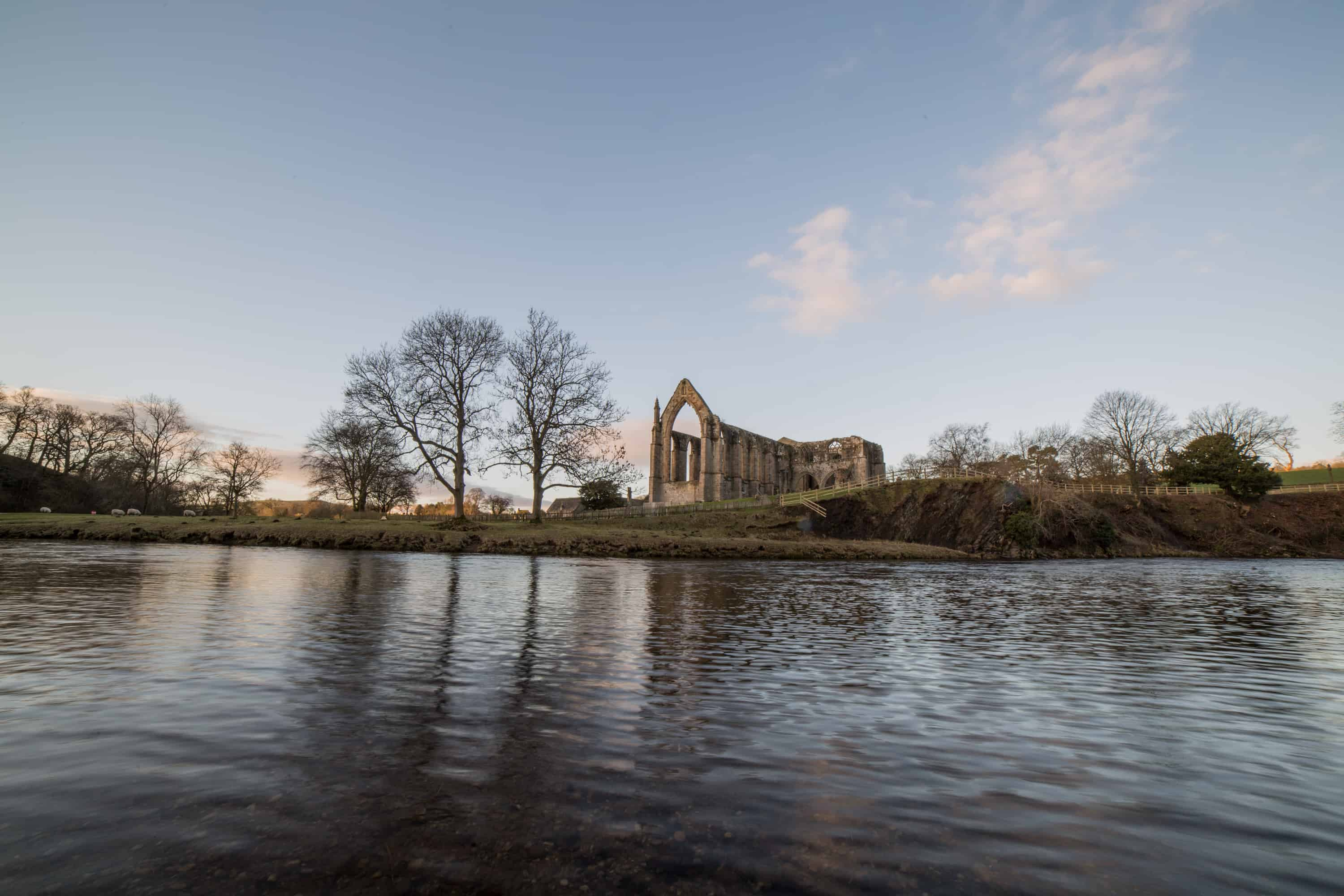 River Wharf & Abbey Priory, Bolton Abbey, Skipton