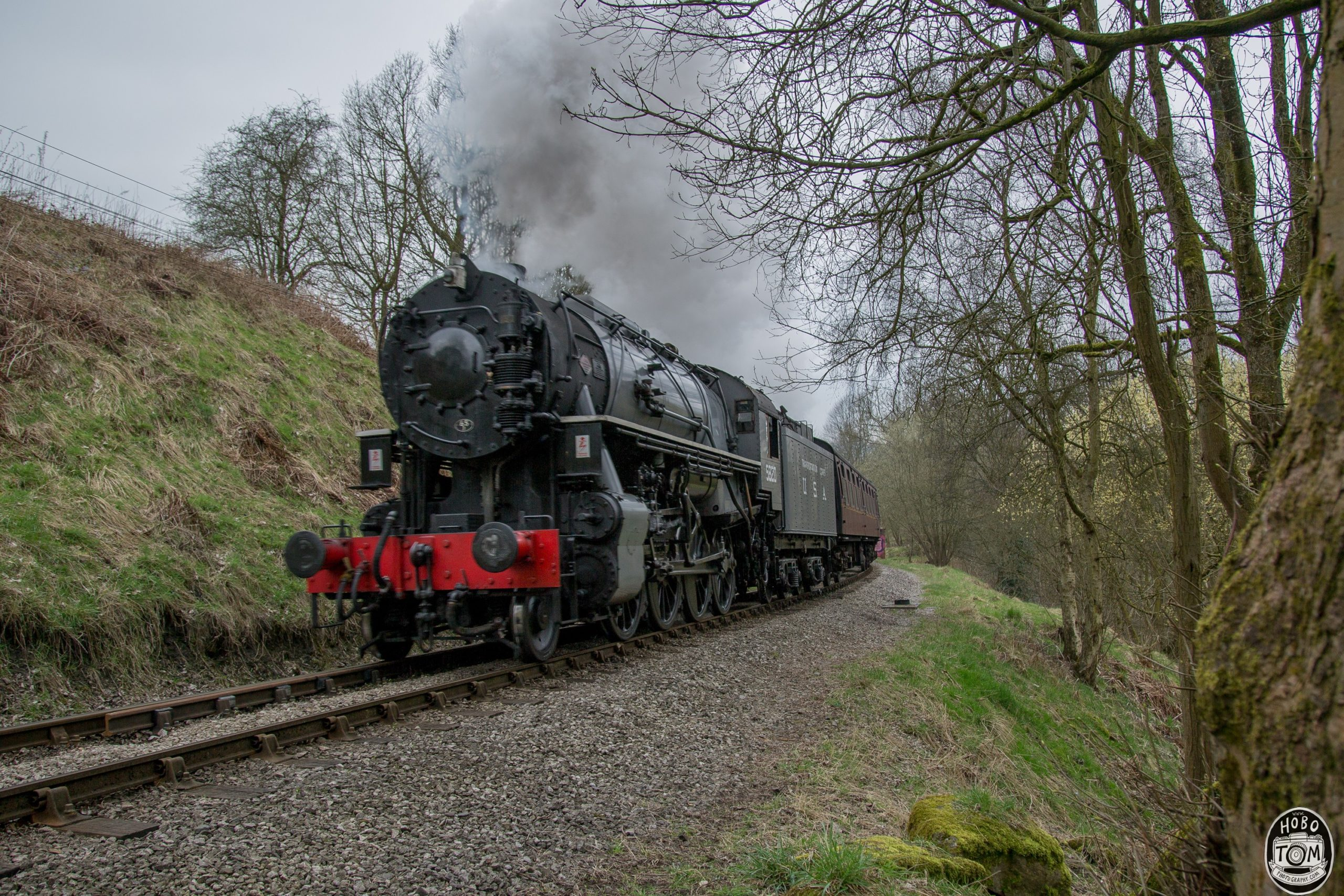Big Jim on Keighley Worth Valley Railway